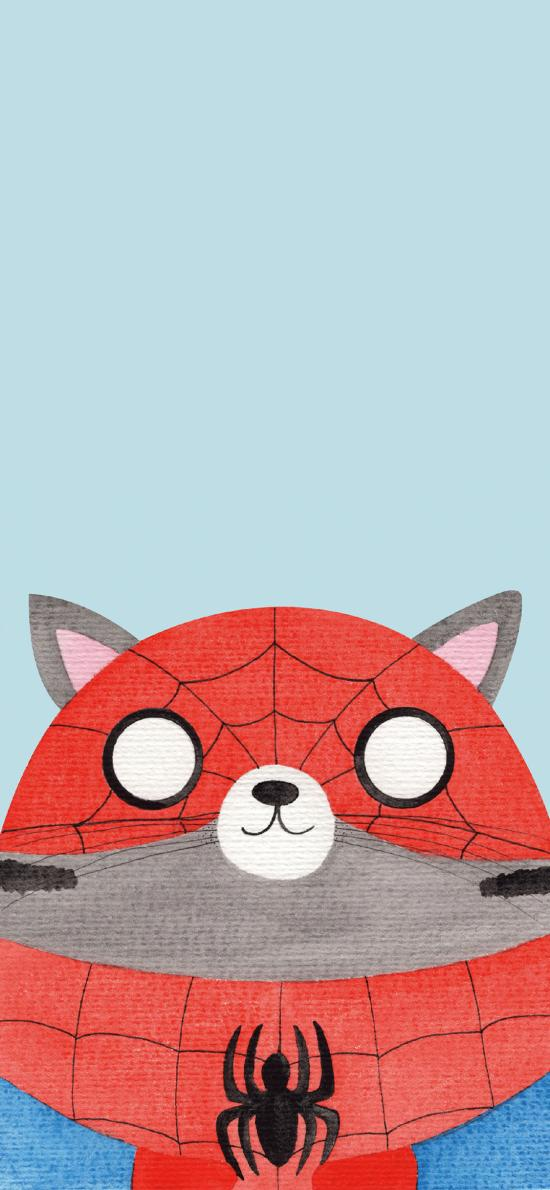 猫咪 cos 漫威 蜘蛛侠