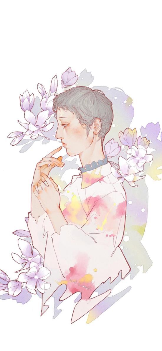 情侣 男孩 鲜花 爱情