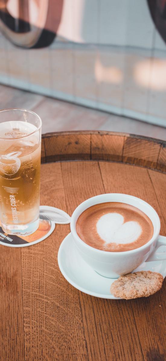 咖啡 果汁 饼干 曲奇