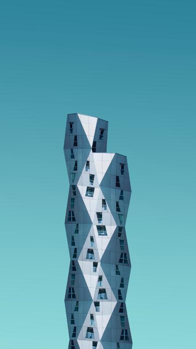 建筑 高楼  几何 多面体