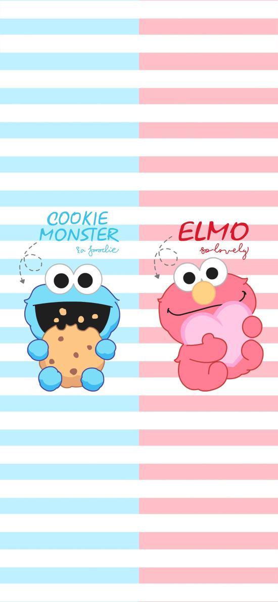 美国 动画 芝麻街 cookie