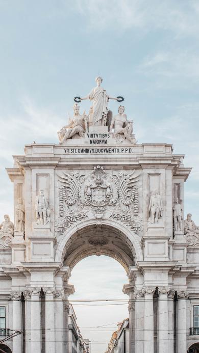 法国 里斯本贸易广场 景点