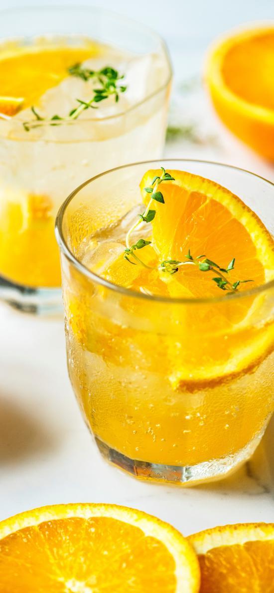 果汁 橙汁 维生素 黄