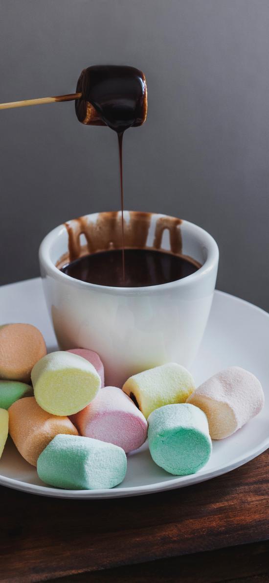 点心 棉花糖 巧克力 甜品
