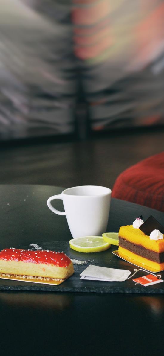 甜品 糕点 柠檬 精致