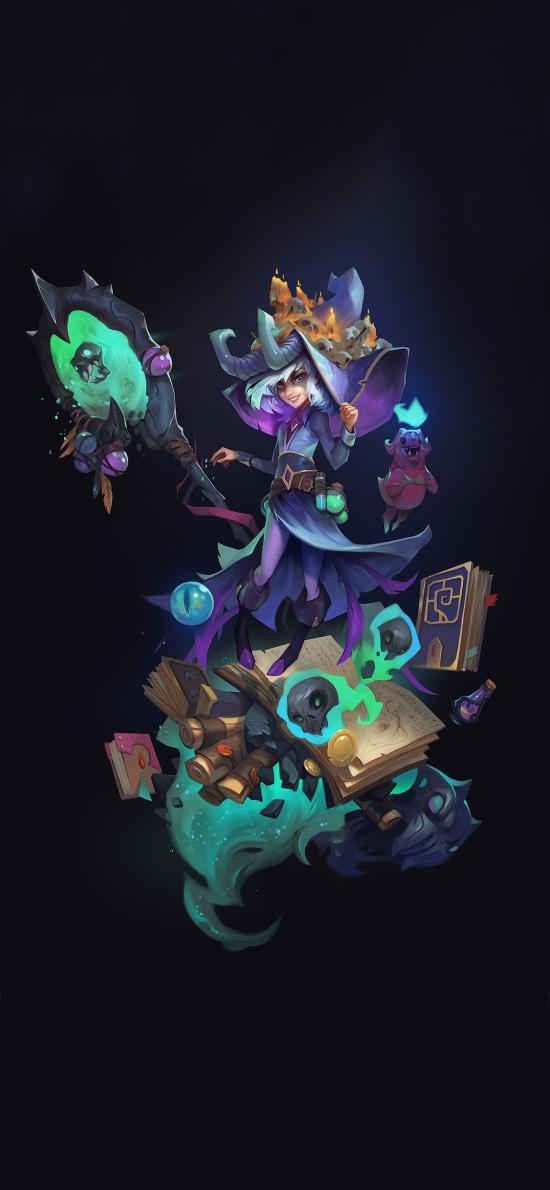 游戏插画 CG原画 巫师 法术