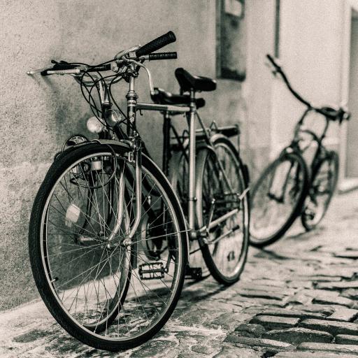 街道 巷子 单车 怀旧