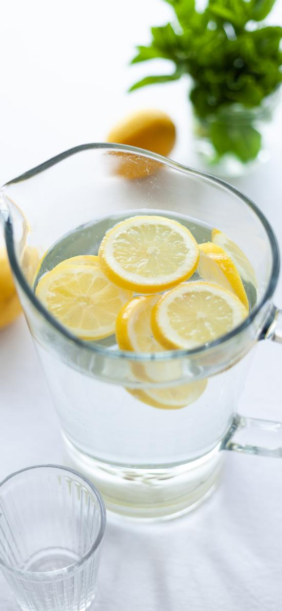 柠檬谁 水果 柠檬 容器