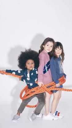 童模 写真 绳索 捆绑