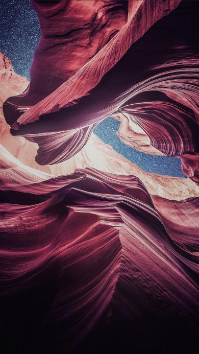 砂石 峡谷 美国 亚利桑那 羚羊峡谷 自然 地貌