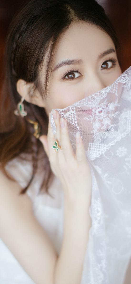 赵丽颖 演员 明星 艺人 纱裙