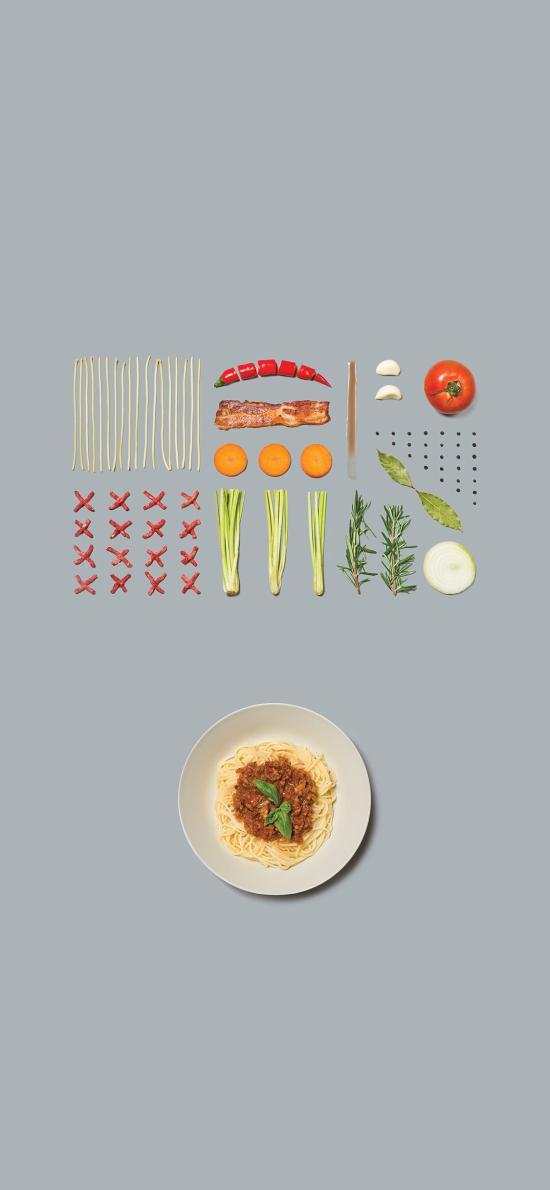 料理 食材 食物 灰色 培根