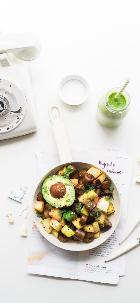 食物 料理 牛油果 健康 烤肠