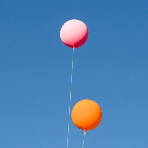 气球 天空 蓝色 飞舞