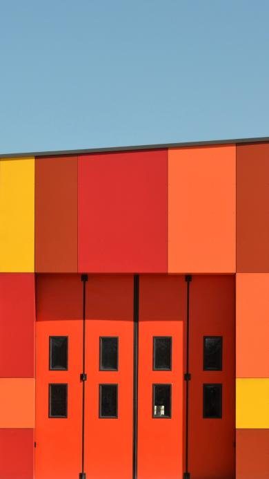房子 建筑 色彩 几何 现代