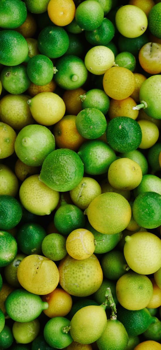 水果 青柠 小青柑 绿色