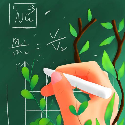 教师节 插画 黑板 粉笔 公式