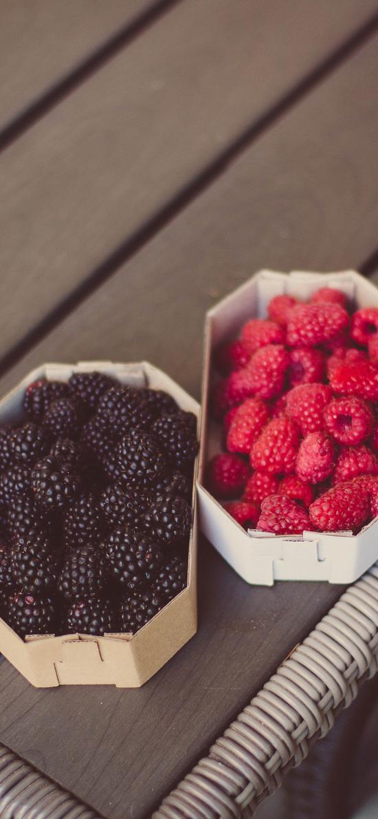 水果 蔓越莓 树莓 覆盆子