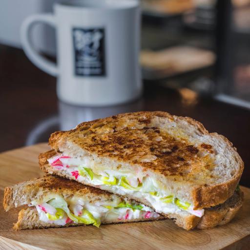 三明治 烘底 夹层 快餐