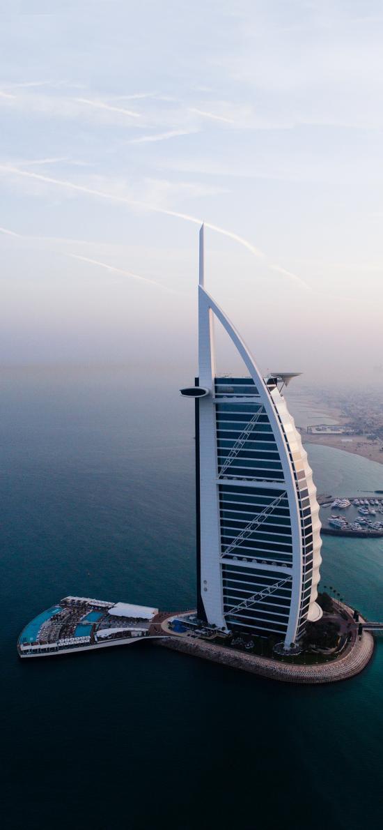 迪拜 帆船酒店 建筑
