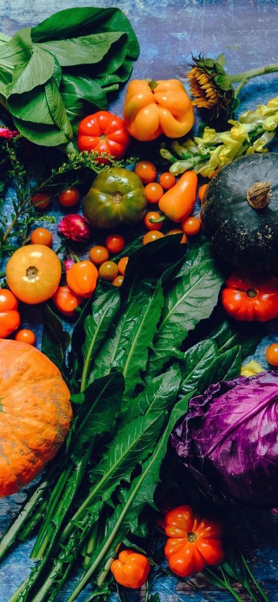 蔬菜 南瓜 上海青 时蔬