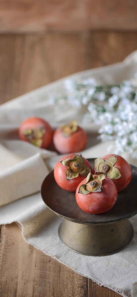 柿子 水果 新鲜 甜柿