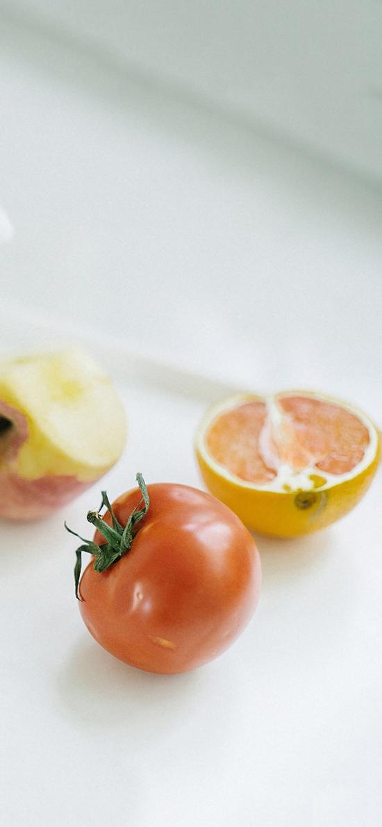 蔬果 西红柿 红番茄 苹果