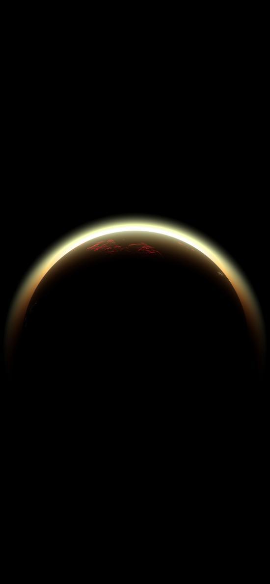 星球 光圈 弧线 宇宙 太空