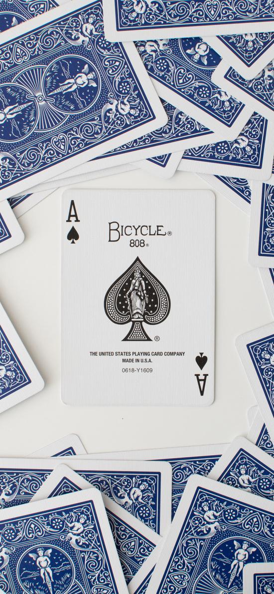 纸牌 扑克牌 黑桃A 娱乐