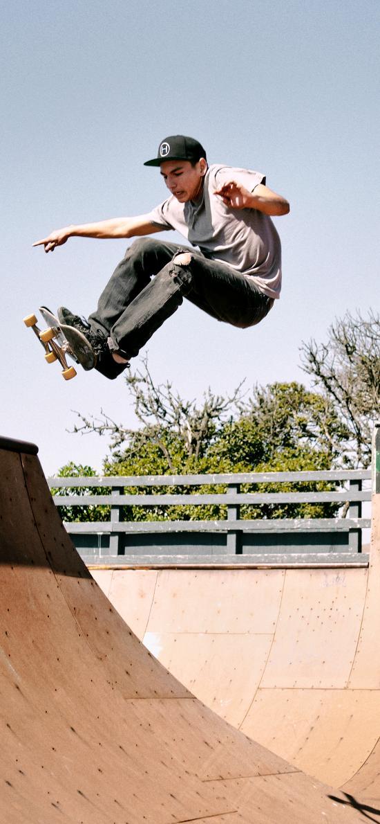 滑板 技巧 休闲 炫技