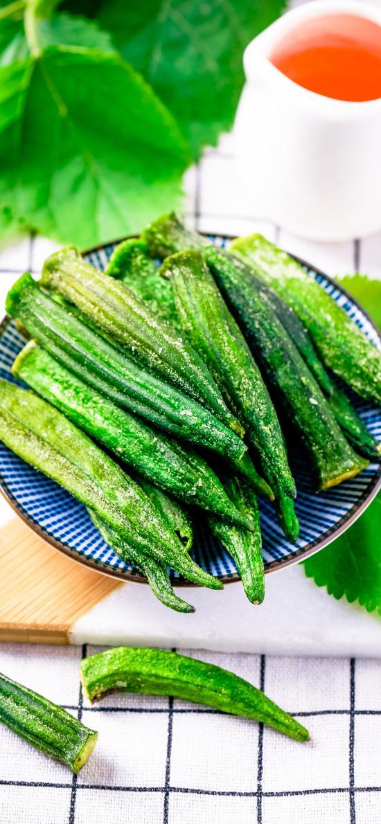 秋葵 蔬菜 健康 脱水蔬菜