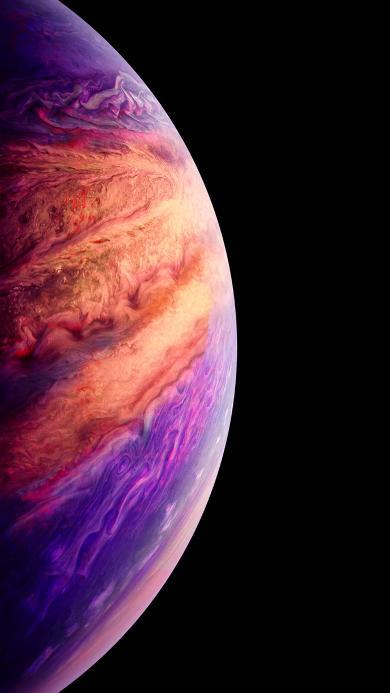 星球 宇宙 弧形 渐变