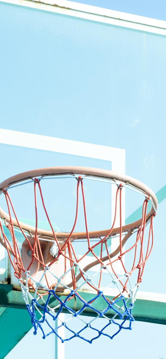 篮框 篮球 球框 运动 小清新