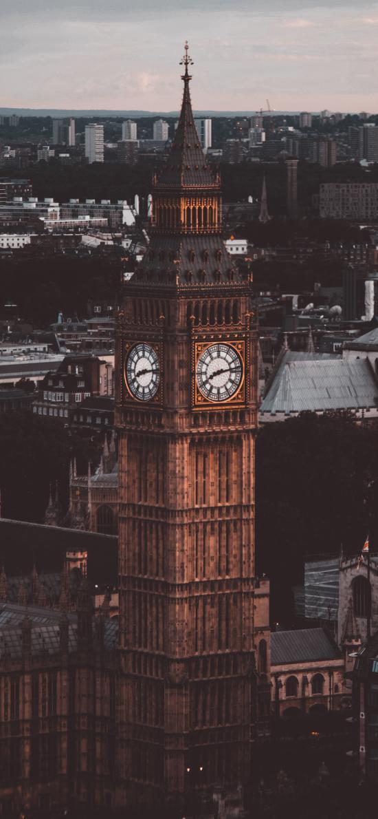 钟楼 欧式 异域 建筑 标志性