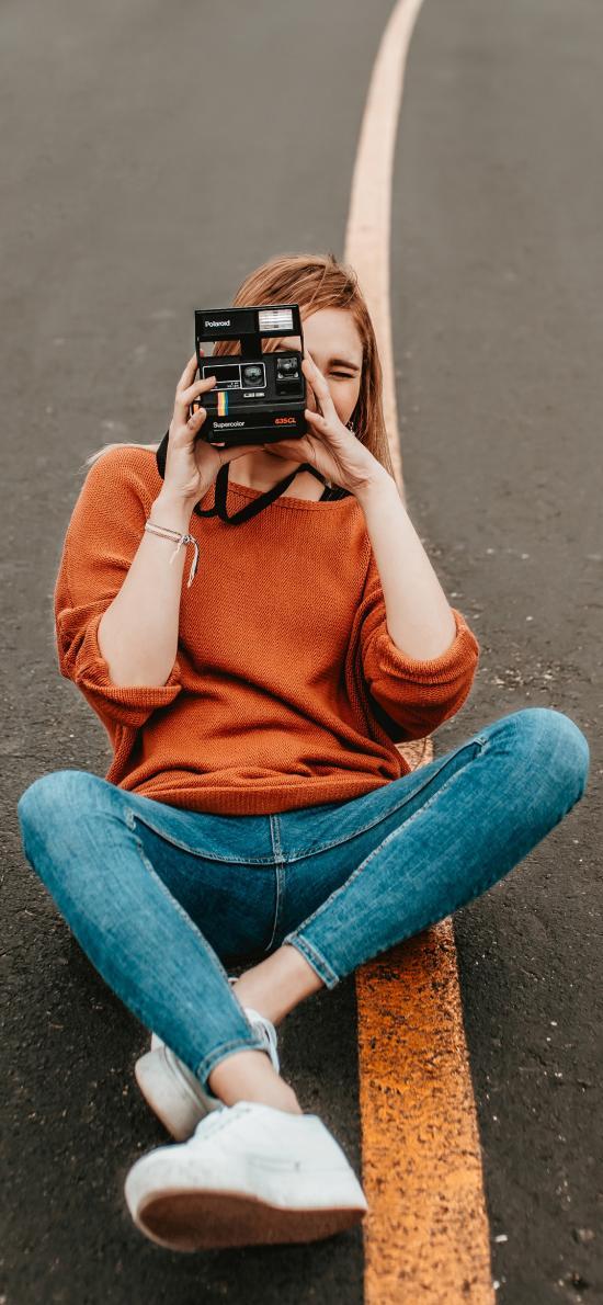 道路 摄影师 欧美 相机