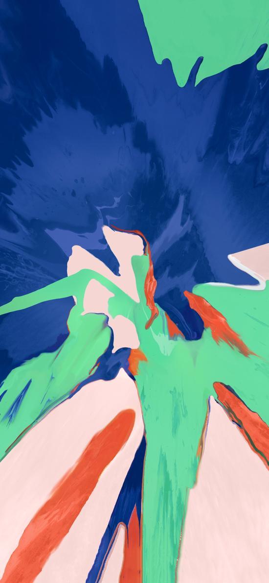 色彩 炫丽 渲染 抽象