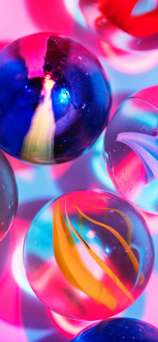 玻璃珠 玩具 配饰 色彩