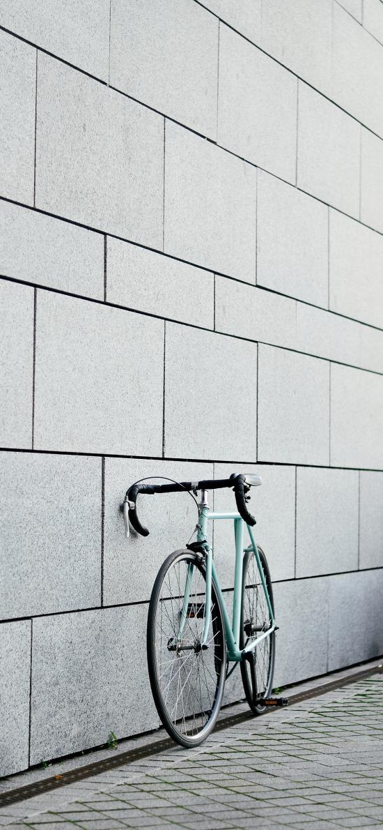 单车 运动 墙壁 停靠