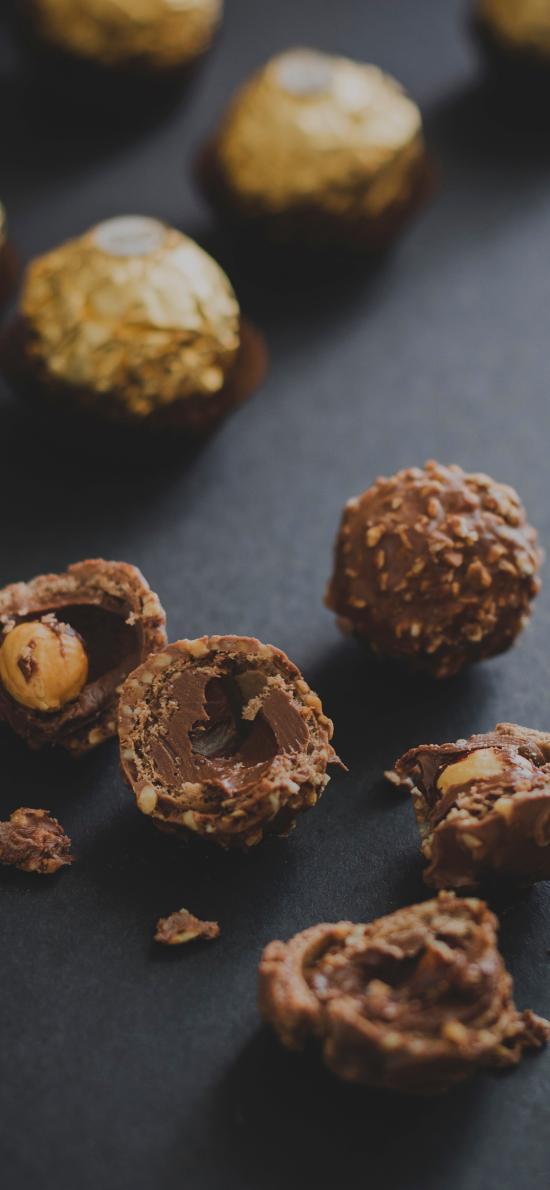 巧克力 金莎 费列罗 坚果仁