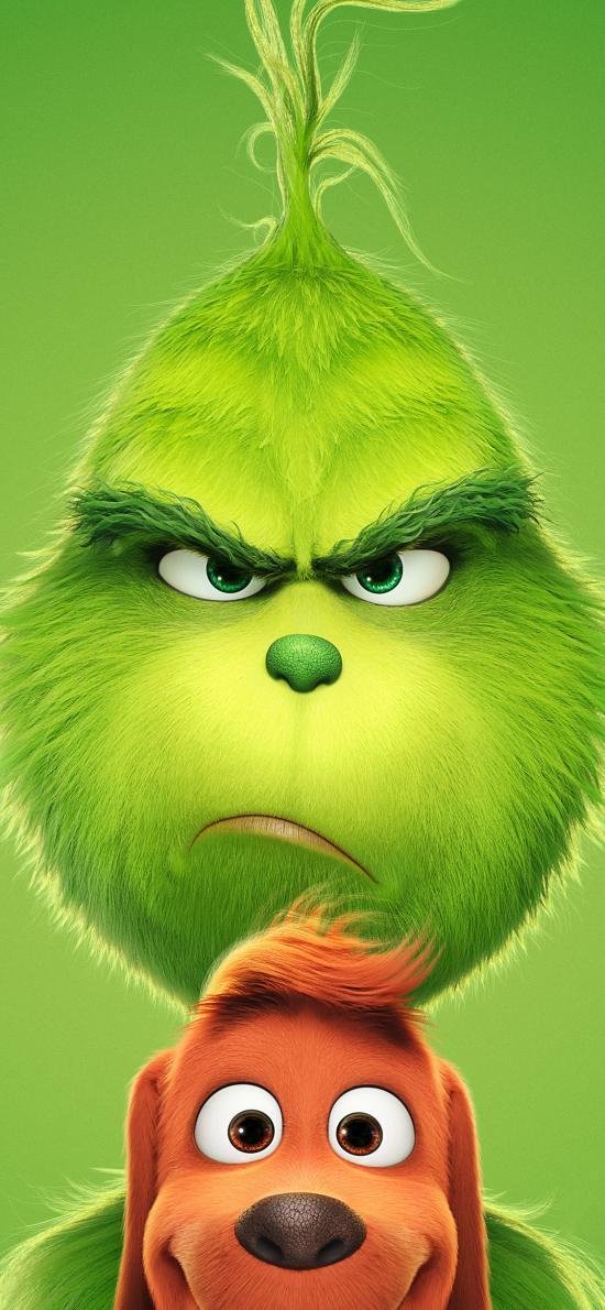 绿毛怪格林奇 绿色 动画 欧美