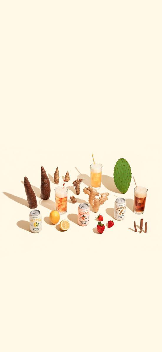 食材 仙人掌 香料 水果 饮品
