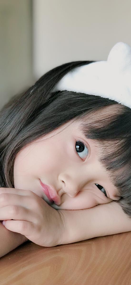 哈琳 小女孩 可爱 萌 儿童