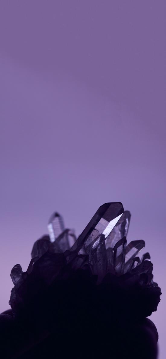 晶石 紫水晶 矿石 磁场