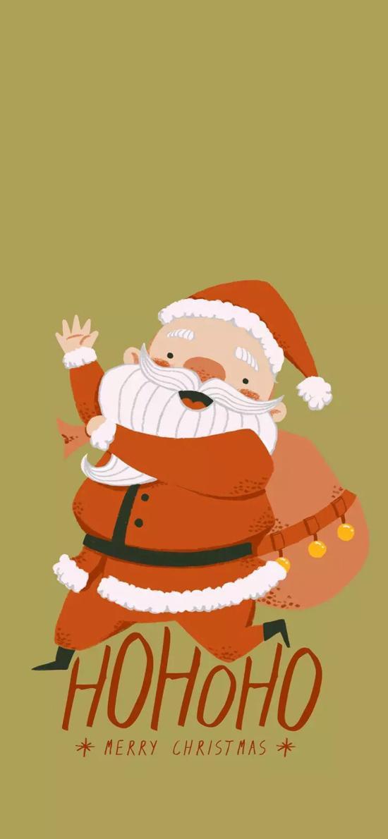 圣诞老人 Merry Christmas HOHO