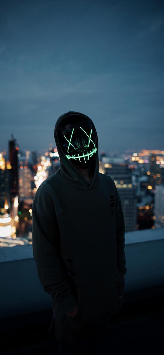 创意 写真 面具 神秘