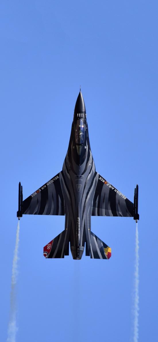 飞机 喷气式 战斗机 飞行 航空 蓝色
