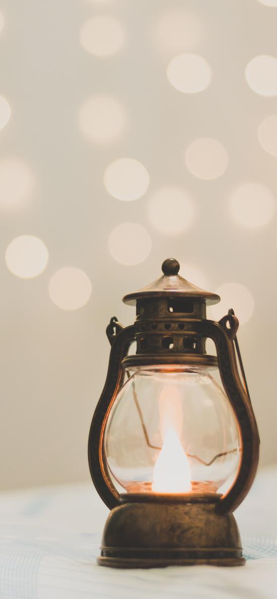 油灯 火焰 火苗 照明