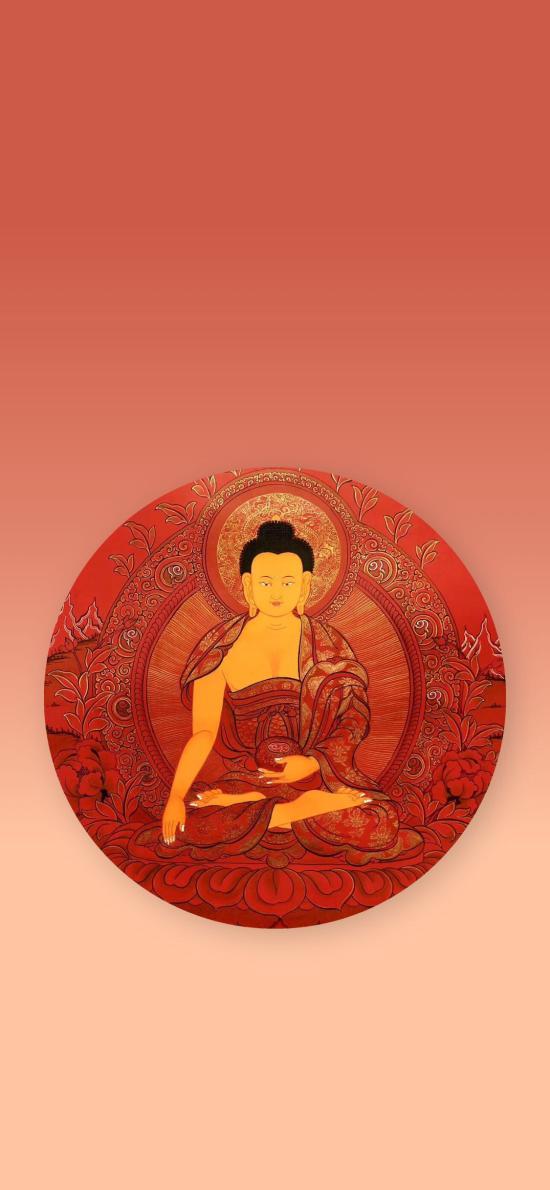 佛祖 红 信仰 佛教