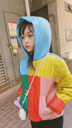 刘楚恬 小葡萄 小女孩 童星 街拍