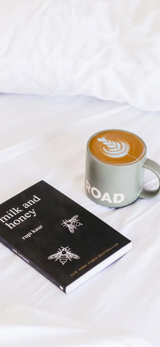 静物 书籍 书本 咖啡 拉花